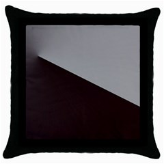 Course Gradient Color Pattern Throw Pillow Case (black) by Nexatart