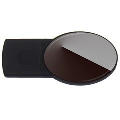 Course Gradient Color Pattern Usb Flash Drive Oval (4 Gb)