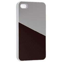 Course Gradient Color Pattern Apple Iphone 4/4s Seamless Case (white)