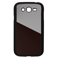 Course Gradient Color Pattern Samsung Galaxy Grand Duos I9082 Case (black)