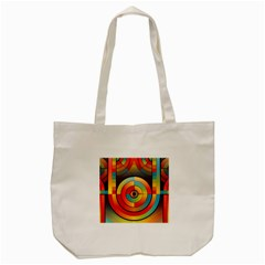 Abstract Pattern Background Tote Bag (cream) by Nexatart