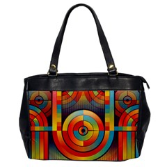 Abstract Pattern Background Office Handbags by Nexatart