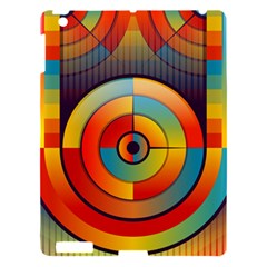 Abstract Pattern Background Apple Ipad 3/4 Hardshell Case