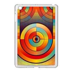 Abstract Pattern Background Apple Ipad Mini Case (white)