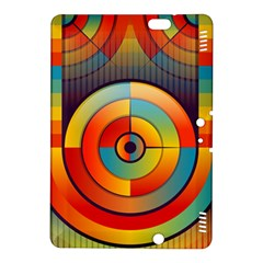 Abstract Pattern Background Kindle Fire Hdx 8 9  Hardshell Case by Nexatart