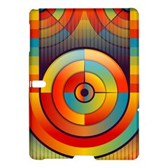 Abstract Pattern Background Samsung Galaxy Tab S (10 5 ) Hardshell Case  by Nexatart