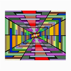 Art Vanishing Point Vortex 3d Small Glasses Cloth