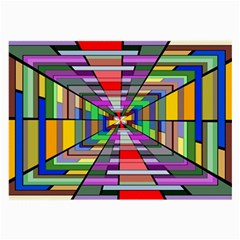 Art Vanishing Point Vortex 3d Large Glasses Cloth by Nexatart