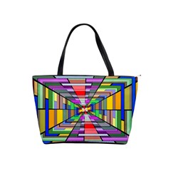 Art Vanishing Point Vortex 3d Shoulder Handbags by Nexatart
