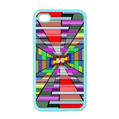 Art Vanishing Point Vortex 3d Apple Iphone 4 Case (color)