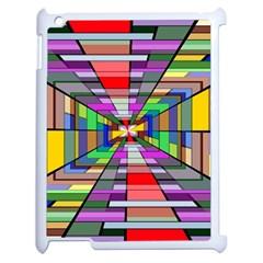 Art Vanishing Point Vortex 3d Apple Ipad 2 Case (white)
