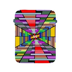 Art Vanishing Point Vortex 3d Apple Ipad 2/3/4 Protective Soft Cases by Nexatart
