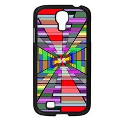 Art Vanishing Point Vortex 3d Samsung Galaxy S4 I9500/ I9505 Case (black)
