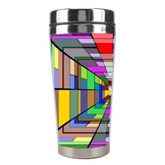 Art Vanishing Point Vortex 3d Stainless Steel Travel Tumblers