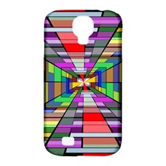 Art Vanishing Point Vortex 3d Samsung Galaxy S4 Classic Hardshell Case (pc+silicone)