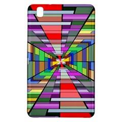 Art Vanishing Point Vortex 3d Samsung Galaxy Tab Pro 8 4 Hardshell Case