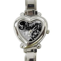 Art About Ball Abstract Colorful Heart Italian Charm Watch by Nexatart