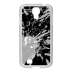 Art About Ball Abstract Colorful Samsung Galaxy S4 I9500/ I9505 Case (white)