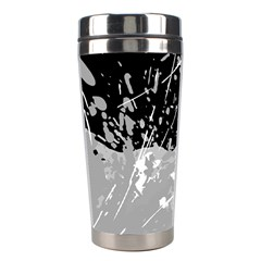 Art About Ball Abstract Colorful Stainless Steel Travel Tumblers by Nexatart