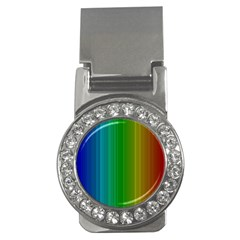 Spectrum Colours Colors Rainbow Money Clips (cz)  by Nexatart