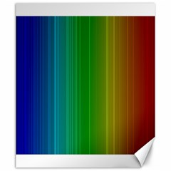 Spectrum Colours Colors Rainbow Canvas 20  X 24