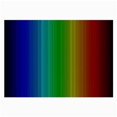 Spectrum Colours Colors Rainbow Large Glasses Cloth