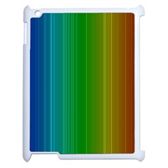 Spectrum Colours Colors Rainbow Apple Ipad 2 Case (white)
