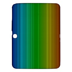 Spectrum Colours Colors Rainbow Samsung Galaxy Tab 3 (10 1 ) P5200 Hardshell Case