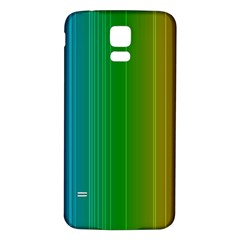 Spectrum Colours Colors Rainbow Samsung Galaxy S5 Back Case (white)