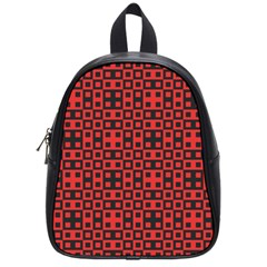 Abstract Background Red Black School Bags (small)  by Nexatart