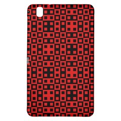 Abstract Background Red Black Samsung Galaxy Tab Pro 8 4 Hardshell Case
