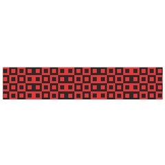 Abstract Background Red Black Flano Scarf (small) by Nexatart