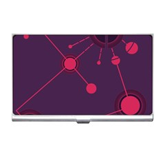 Abstract Lines Radiate Planets Web Business Card Holders by Nexatart