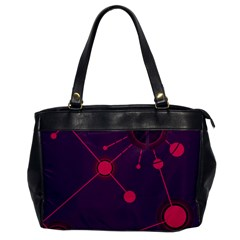 Abstract Lines Radiate Planets Web Office Handbags by Nexatart