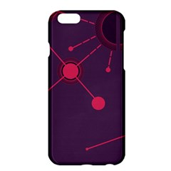 Abstract Lines Radiate Planets Web Apple Iphone 6 Plus/6s Plus Hardshell Case