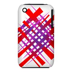 Chaos Bright Gradient Red Blue Iphone 3s/3gs by Nexatart