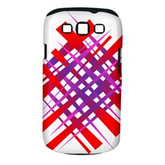 Chaos Bright Gradient Red Blue Samsung Galaxy S Iii Classic Hardshell Case (pc+silicone)