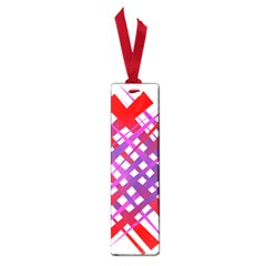 Chaos Bright Gradient Red Blue Small Book Marks