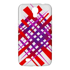 Chaos Bright Gradient Red Blue Samsung Galaxy Mega 6 3  I9200 Hardshell Case by Nexatart