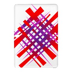 Chaos Bright Gradient Red Blue Samsung Galaxy Tab Pro 10 1 Hardshell Case