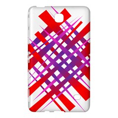 Chaos Bright Gradient Red Blue Samsung Galaxy Tab 4 (7 ) Hardshell Case  by Nexatart