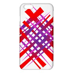 Chaos Bright Gradient Red Blue Iphone 6 Plus/6s Plus Tpu Case by Nexatart
