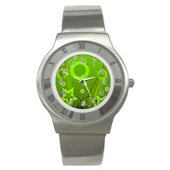 Art About Ball Abstract Colorful Stainless Steel Watch by Nexatart