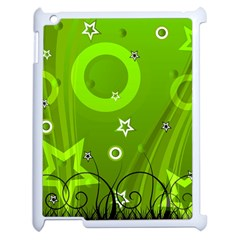 Art About Ball Abstract Colorful Apple Ipad 2 Case (white) by Nexatart