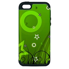 Art About Ball Abstract Colorful Apple Iphone 5 Hardshell Case (pc+silicone)