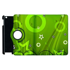 Art About Ball Abstract Colorful Apple Ipad 2 Flip 360 Case by Nexatart