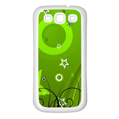 Art About Ball Abstract Colorful Samsung Galaxy S3 Back Case (white) by Nexatart