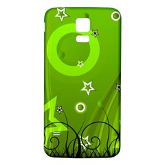 Art About Ball Abstract Colorful Samsung Galaxy S5 Back Case (white) by Nexatart