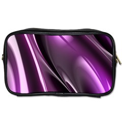 Fractal Mathematics Abstract Toiletries Bags 2 Side by Nexatart