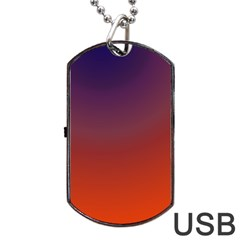 Course Colorful Pattern Abstract Dog Tag Usb Flash (one Side) by Nexatart